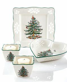 Spode Serveware & Gifts, Christmas Tree Pierced Collection #DearTopshop #christmas