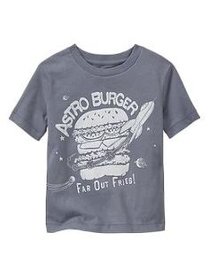 astro burger graphic tee