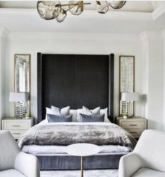 This is a Bedroom Interior Design Ideas. House is a private bedroom and is usually hidden from our guests. However, it is important to her, not only for comfort but also style. Much of our bedroom … Luxury Bedroom Design, Master Bedroom Design, Bedroom Inspo, Home Decor Bedroom, Modern Interior Design, Modern Bedroom, Dream Bedroom, Bedroom Ideas, Master Suite