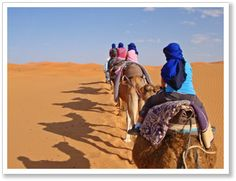 Woestijntocht door Sahara, Marokko