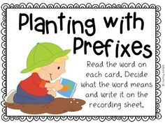 free Enjoy this free spring center to practice prefixes in your classroom. Prefixes included are re-, dis-, pre-, and un-. If you enjoy these free cen. Word Study, Word Work, 2nd Grade Grammar, Classroom Solutions, Prefixes And Suffixes, Ell Students, Root Words, Reading Workshop, Too Cool For School
