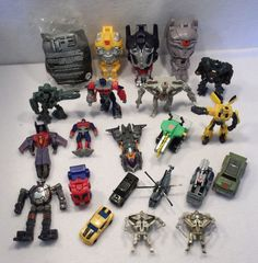 LOT OF USED Transformers robots in disguise HASBRO TAKARA toys figures B #Takara