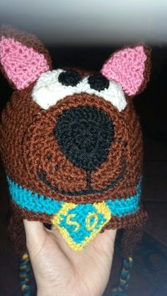 Scooby doo crochet hat