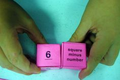6th grade math - math operations; roll dice and do problem, answer is on bingo board