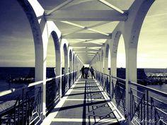 Like so much black&white photos #pontile #Civitavecchia #Lazio #Rome #Italy #landscape#paesaggi #photo#black#white#sea #mare#lights#ombre#nikon#photography#foto#architecture#architettura #italylandscape