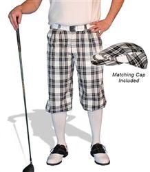 Men's Whitmere Par 5 Wool Golf Knickers & Cap by GolfKnickers.  Buy it @ ReadyGolf.com