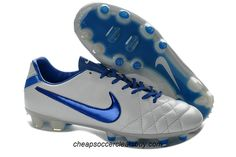 info for 68f59 eee79 Nike Tiempo Legend IV FG TPU Kangaroo Leather Soccer Cleats 2013 White  Metallic Blue Volt Leather