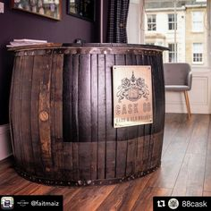 @faitmaiz turning beautiful old casks into lovely new creations with a little help from us for the plaque. #carpentry #workingwithwood #makingthings #reuse #oak #recreateresponsibly #reusereducerecycle #instachill #hospitality #dinnerparties #homebar #friendships #whisky #scotchwhisky #scotch #casks #casksofdistinction #caskbuying #beautifulwood #beautifulwoodwork #coopers #instadram #bonvivant #rareandold #luxurylivinggroup #luxurylifestyle #thelaserguy #laserengraving