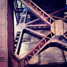 """@thequeenskickshaw's photo: """"Under Hellgate Bridge"""""""
