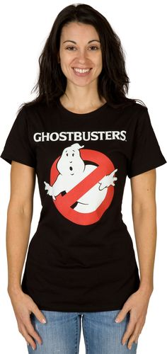 Ladies Ghostbusters Shirt