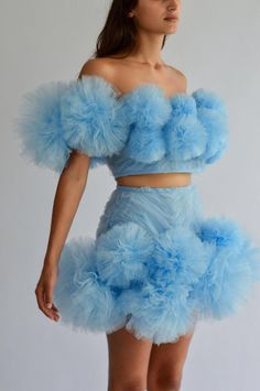 David Koma Two-Toned Denim-Jersey Skinny Pants Runway Fashion, High Fashion, Fashion Show, Fashion Design, Lolita Fashion, Emo Fashion, Tulle Dress, Dress Up, Mode Rose