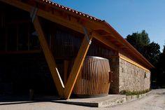 Winery Casa da Torre, Vila Nova de Famalicão, 2009 - Castanheira & Bastai Arcquitectos