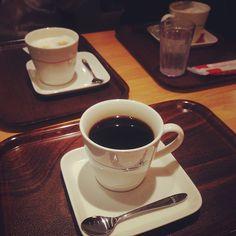 [ラーメン部反省会*2013/01/23]     こーしーたいむ☕        @MOS CAFE 銀座ナイン店