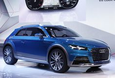 Audi Allroad Shooting Brake concept debut at 2014 Detroit Auto Show