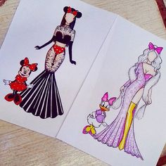 Disney style Who whore it better? Try to comment letter by letter