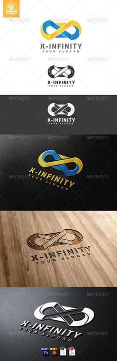 X-Infintiy Logo Template (Letters)
