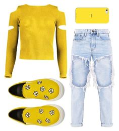 Designer Clothes, Shoes & Bags for Women Mustard Yellow Sweater, Casetify, Boohoo, Sunnies, Shoe Bag, Sweaters, Polyvore, Stuff To Buy, Shopping