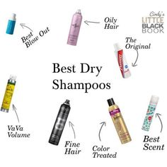 best dry shampoos, dry shampoo for oily hair, volume, fine hair, blow out, best scent, color treated hair