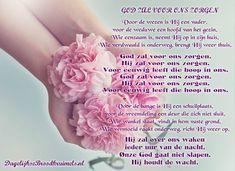 GOD ZAL VOOR ONS ZORGEN Voor de wezen is Hij een vader, voor de weduwe een hoofd van het gezin. Wie eenzaam is, neemt Hij op in zijn huis. Wie verdwaald is onderweg, brengt Hij weer thuis.  God zal voor ons zorgen. Hij zal voor ons zorgen. Voor eeuwig leeft die hoop in ons. God zal voor... #DeVader, #God, #Vertrouwen  https://www.dagelijksebroodkruimels.nl/god-zal-voor-ons-zorgen/