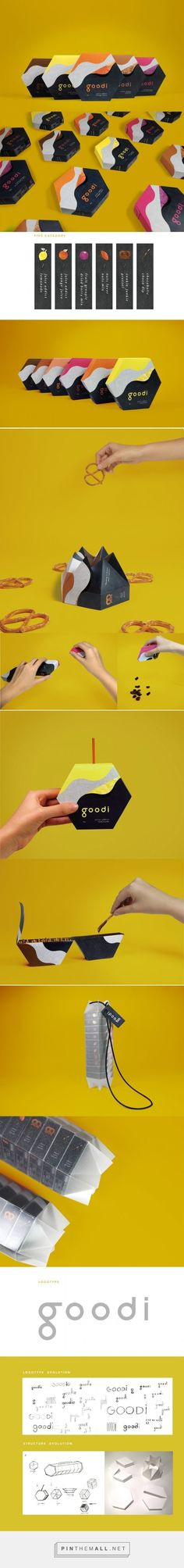 Goodi (Student Project) - Packaging of the World - Creative Package Design Gallery - http://www.packagingoftheworld.com/2017/02/goodi-student-project.html