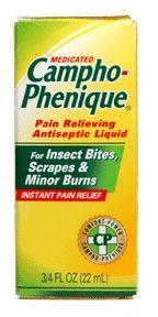 Campho-phenique pain relieving antiseptic liquid - 0.75 oz