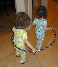 {Learners in Bloom} 10 Hula Hoop Games for Preschoolers