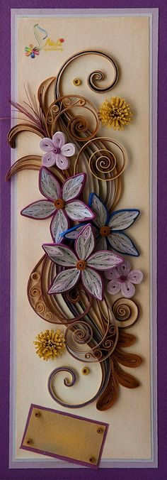 Gorgeous Quilled Design - by:  Neli Beneva - www.facebook.com/photo.php?fbid=453364558075472=oa.409159489179592=1_count=1