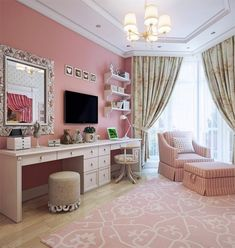 Beauty Room Inspiration - Beauty With Lily Dream Rooms, Dream Bedroom, Girls Bedroom, Bedroom Decor, Cozy Bedroom, Bedrooms, Girl Rooms, Bedroom Ideas, Decor Room