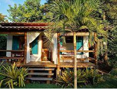 Cottage Design, House Design, Cabana, Bali House, House Outside Design, House On Stilts, Bamboo House, Spanish House, Cabin Homes