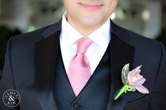 Pink + Lime groom's attire L'Auberge Del Mar Wedding | Nancy