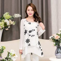 69f94fe5db0 DearLover Women Blouse Black White Colorblock Bell Sleeve Cold Shoulder Top