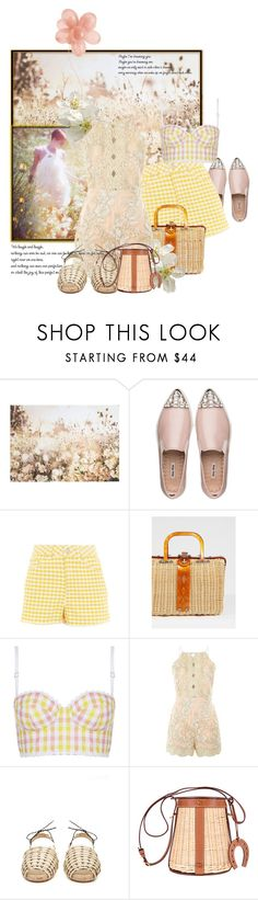 """""""Country Cousins Have Style Too"""" by the-house-of-kasin ❤ liked on Polyvore featuring Graham & Brown, Miu Miu, Emma Watson, Topshop, Free People, Ball Pagès, Hermès, country and hookedonstyle"""