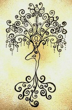 57 Ideas for willow tree drawing art life Yoga Kunst, Henne Tattoo, Goddess Art, Yoga Art, Tree Art, Henna Designs, Tree Of Life, Art Drawings, Drawing Art