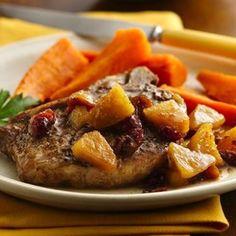 Thick cut pork loin chops recipes