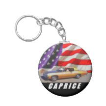 1967 Caprice Coupe Basic Round Button Keychain