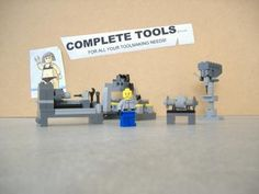 Complete Tools machine shop: A LEGO® creation by Shannon Ocean : MOCpages.com