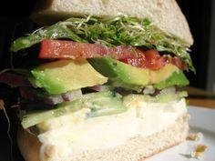 Vegetarian Sandwiches   Vegetarian Sandwich