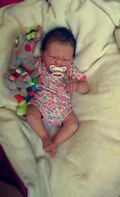 Bebe reborn baby prototype juniper by silvia creations