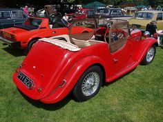 1951 Retro Cars, Vintage Cars, Antique Cars, Singer Cars, Morgan Cars, Jets, Motor Car, Classic Cars, Automobile