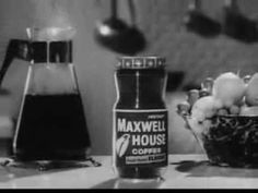 Vintage Old 1950's Instant Maxwell House Coffee Commercial 4