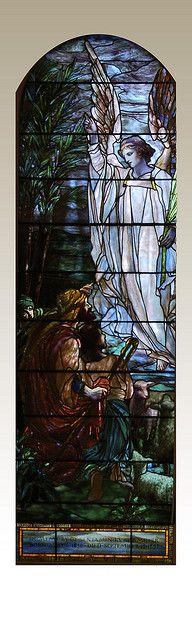 Tiffany stained glass windows. Star of Bethlehem by St. Pauls Church, via Flickr