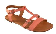 Walk With You Sandals in Coral spring fashion by Studio 3:19