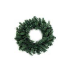 24 inch Washington Frasier Fir Artificial Christmas Wreath - Unlit, Green