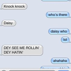 Abbie's a real riot. #jokes #jokester #knockknock