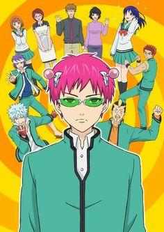 Manga / the disastrous life of saiki k. Anime Guys With Glasses, Hot Anime Guys, Manga Eyes, Manga Boy, Anime Guys Shirtless, Men Abs, K Wallpaper, Tv Tropes, Guy Drawing