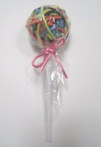 unique birthday party favor- headband lollipop