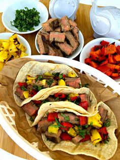 Grilled Steak and Pineapple Tacos - The Complete Savorist