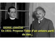 Catholic priest first to propose Big Bang--science and religion are friends, not enemies! Catholic Priest, Catholic Saints, Roman Catholic, Catholic Memes, Catholic Prayers, Catholic Rituals, Catholic Answers, Funny P, Funny Memes