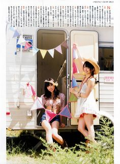 $The magazine picture of AKB48G is sent.  (AKB48Gの雑誌画像を届けます)