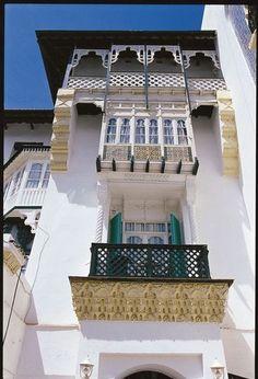 Lovely deck in Algeria